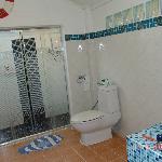 ванна белого домика