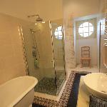 Salle de bain de chambre de l'Abbé