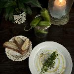 Tarator Soup - chilled cucumber and yogurt soup on the summer menu - the chef's mother's recipe.