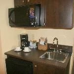 kitchenette in junior suite