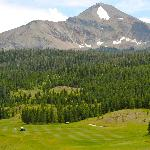Mountain from the golf course