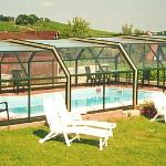 piscine privée couverte