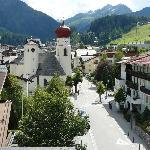 St Anton From Arlberg Hotel