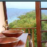 Bathroom with a view - Deacra Villas