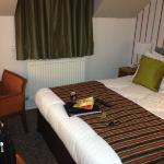 room nice but very small