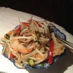 shrimp salad with citronelle