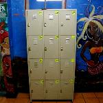 Lockers for everyone!