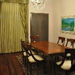 Dining Room in Suite