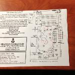 Mineral Springs resort map