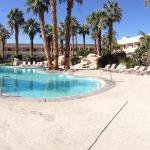 One of eight pools at the hotel