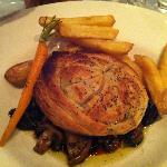 rabbit pie with carrot
