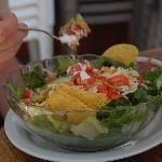 Huge taco salad