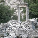 Ancient ruins at Termessos