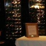 Bar Napoli - Partial Wine Display