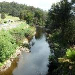 The river round the property