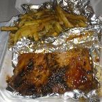 Rib dinner yummy yummy