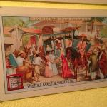 19th century Mexican street scene