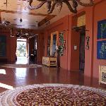 Zambezi Sun Hotel Corridor