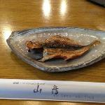 one grilled fish for each guest for breakfast