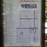 Independence Map outside the Booking Office