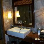 Toppen fint badrum
