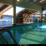Pool im Dachgeschoss