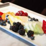 Fresh seasonal fruit during your visit at the spa
