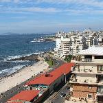 Sea Point view from our suite