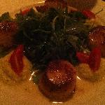 Diver scallops at Nove