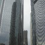 Vista da janela do ap. com prédios lindos