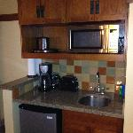 Kitchenette in studio villa
