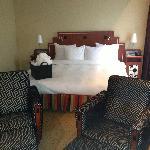 Massive bed in our Junior suite
