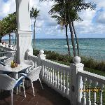 The ocean side porches