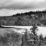 View of Horne Lake from Rm 216 Hampton Inn