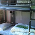 3 bunk dorm