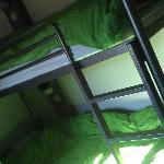 the 3 bunk dorm