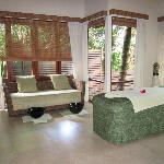Spa treatment room view 2