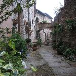 Exploring the narrow streets of Spello