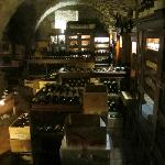 WIne cellar at Le Terroir - fantastic options (even the price is a bit steep)