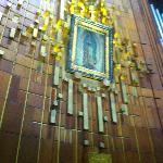 Vista de la Imagen de la Virgen