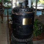 On of several boilers that served the Queen