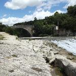 Gammel bro over ouvêze