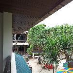 view from balcony of Studio