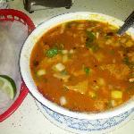 menudo with home tortillas. AMAZING!