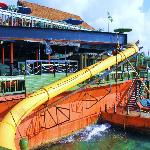 Waterslide at Margaritaville