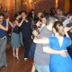 Flor de Milonga on Tuesday nights in Av. Rivadavia 1392