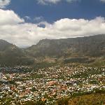 Blick vom Signal Hill auf den Tafel Berg