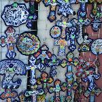 Crosses in Puelba Market