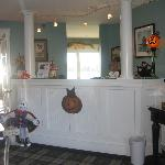 Lobby & Reception, Strawberry Hill Seaside Inn, Rockport, ME