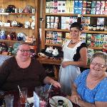 High Tea at the Windsor Rose Tea Room.